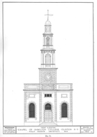chapel - line drawing