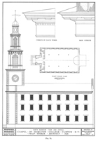 Chapel - architectural drawings