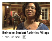 Beinecke Student Activities Village